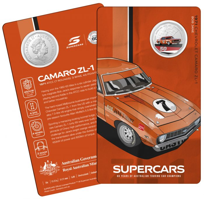 2020_50c_Supercars_Chevrolet-Camaro-ZL_Card