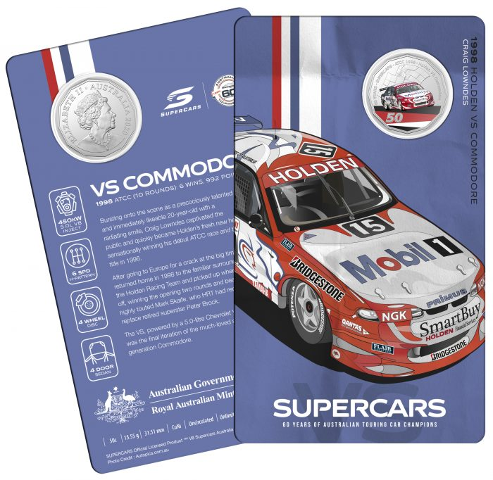 2020_50c_Supercars_Holden-VS-Commodore_Card