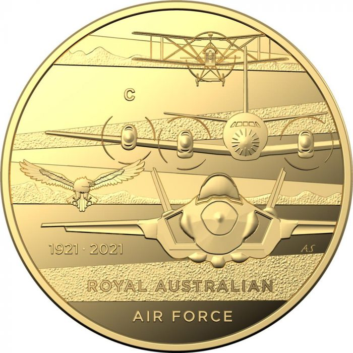 2021-$10-'C'-Mintmark-Heroes-of-the-Sky-Gold-Proof-Coin_REV